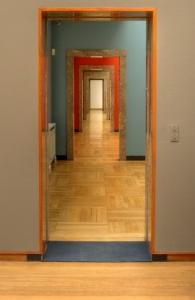 Many doorways