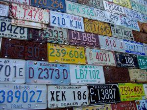 License wall