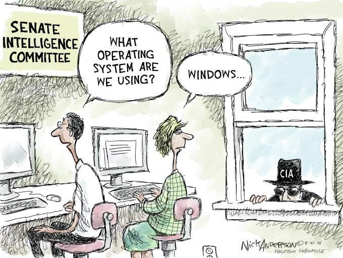 Senate spying
