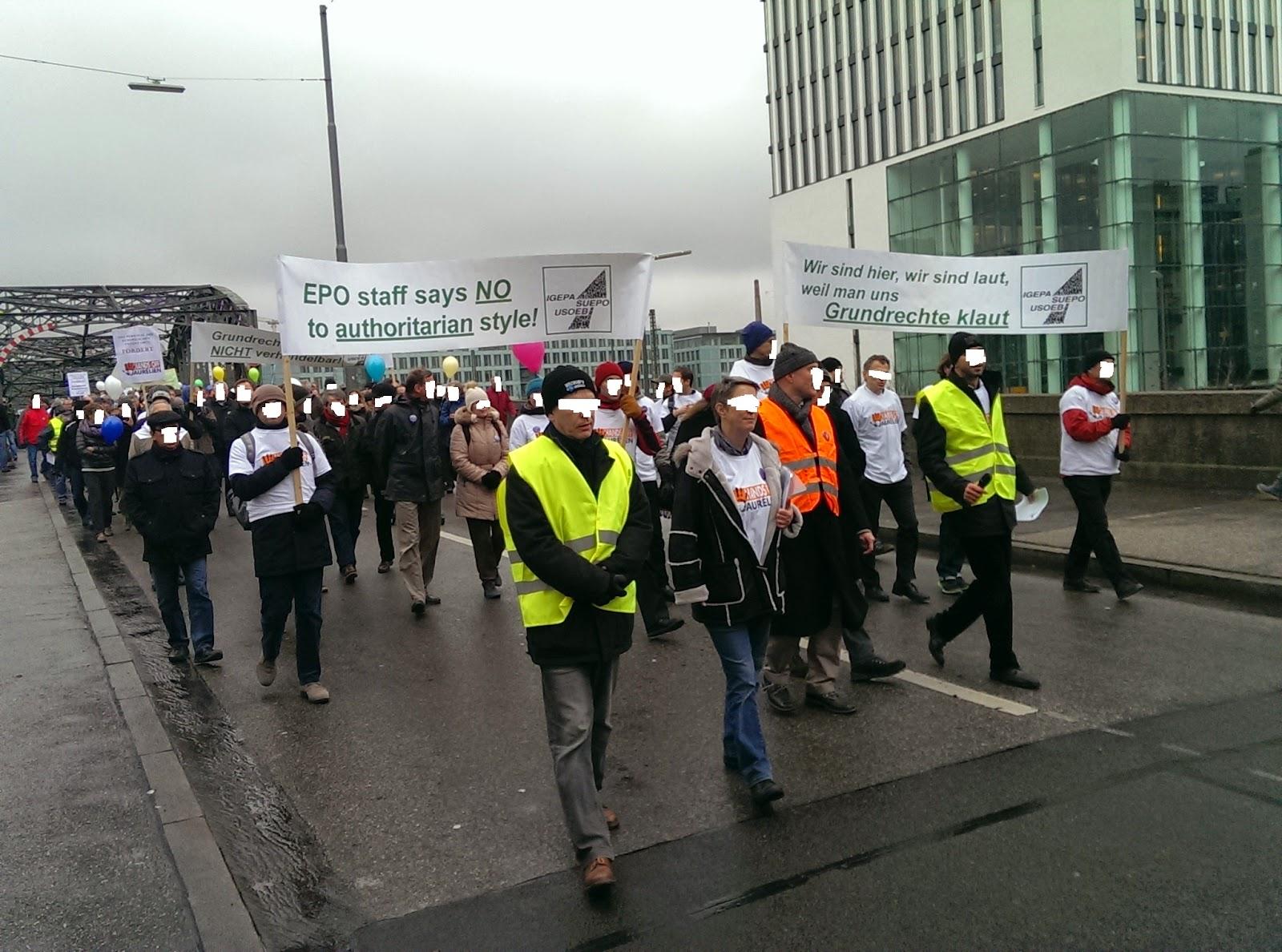 EPO protest