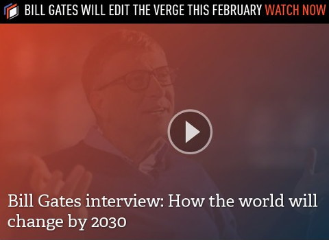 Bill Gates in The Verge