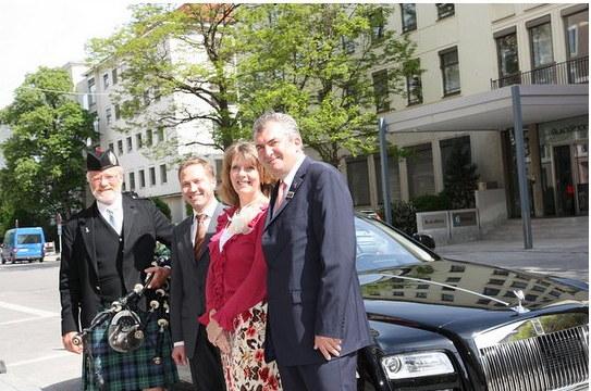 Royal Wedding reception British Consulate-General Munich