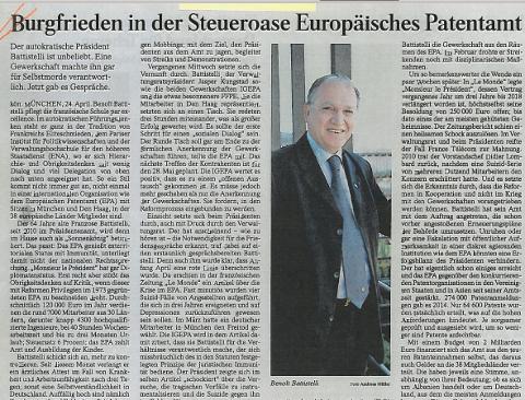 FAZ (Frankfurter Allgemeine Zeitung) article