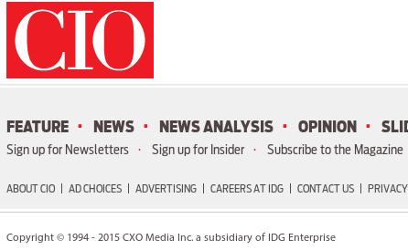 IDG/CIO