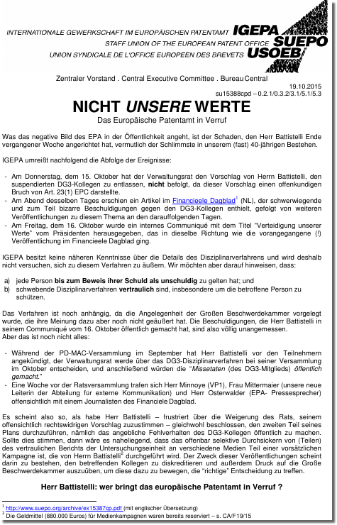 German letter
