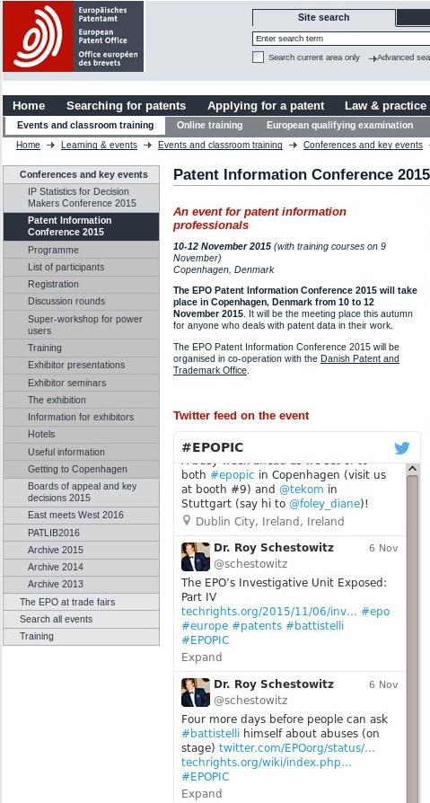 EPOPIC site