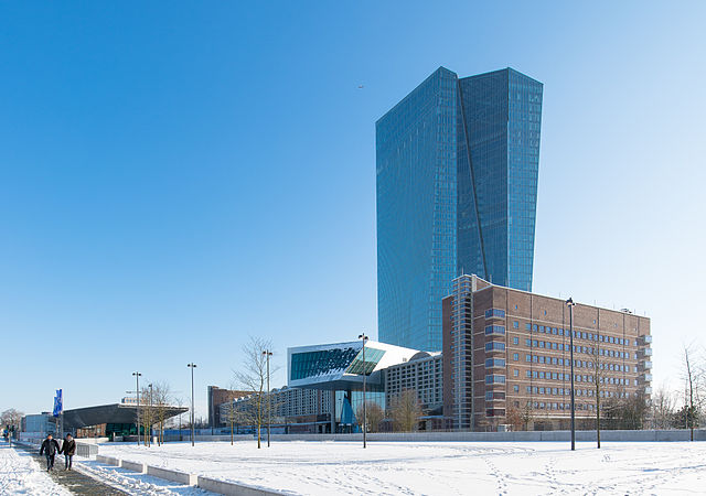 Frankfurt-based European Central Bank