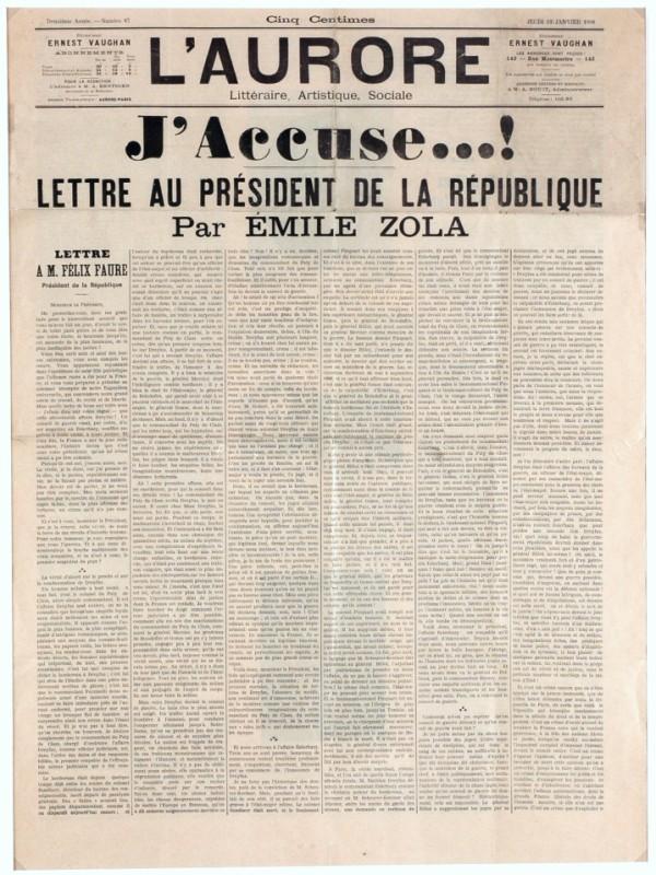 Emile Zola's article