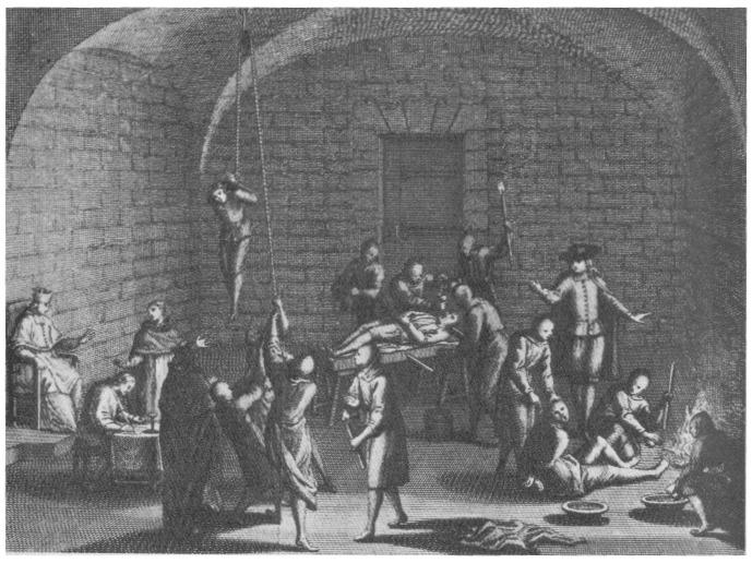 Bernard Picard: Inquisition torture chamber