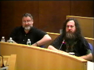 Richard Stallman and Eben Moglen