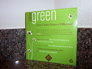 Greenwashing card
