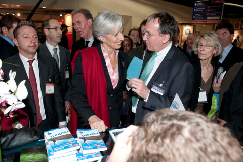 President Battistelli with Lagarde
