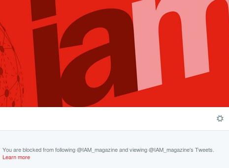 IAM blocking