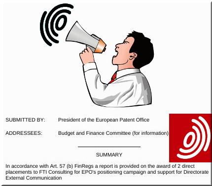 EPO megaphone