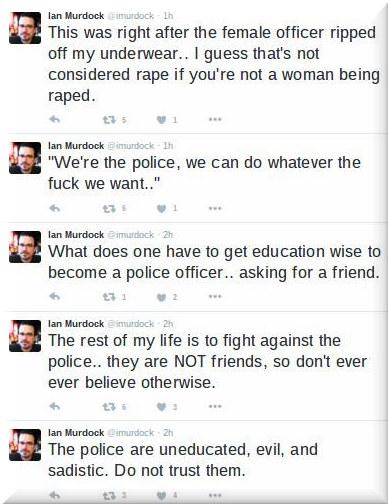 Ian Murdock's Twitter feed