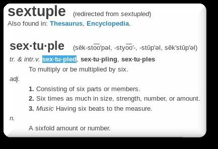 sextuple