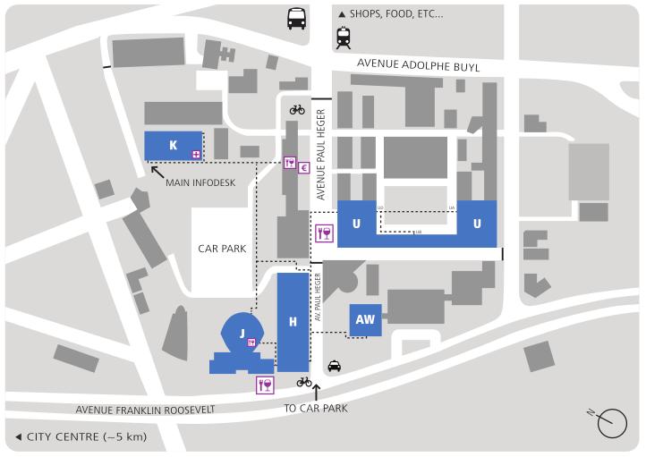 FOSDEM map