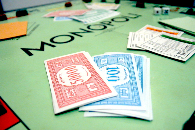 Games of monopoly