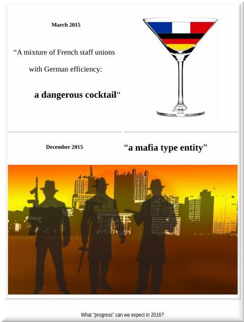Mafia caricature