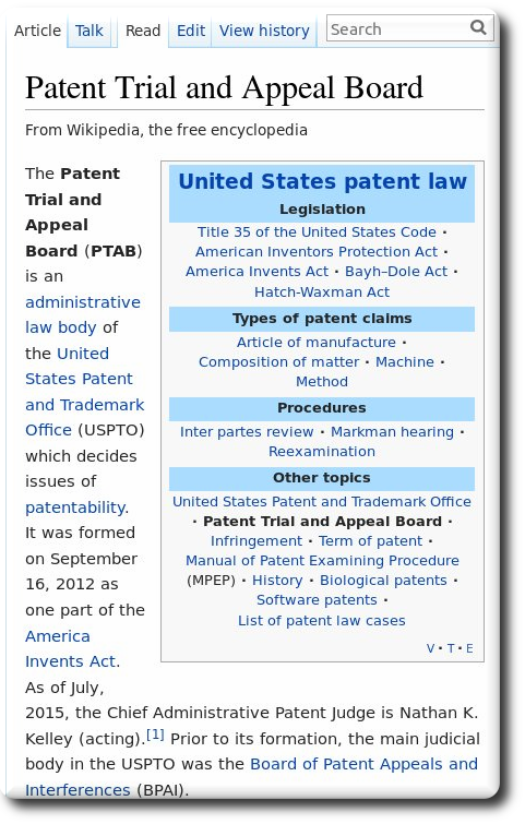 how to find a patent