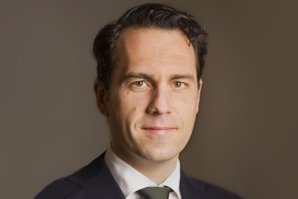 Martijn van Dam, Staatssecretaris van Economische Zaken. Portret voor ministeriepagina op Rijksoverheid.nl