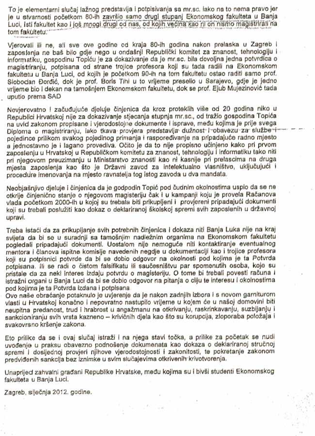Željko Topić diploma