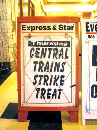 Train strike