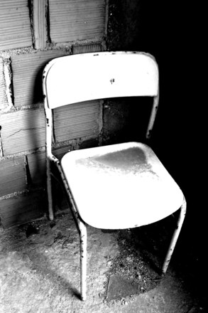 Chair in prison
