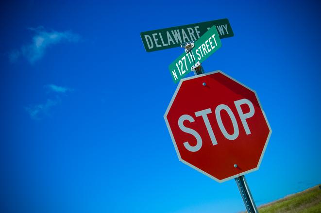 Delaware stop