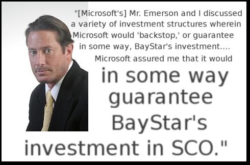 Microsoft SCO