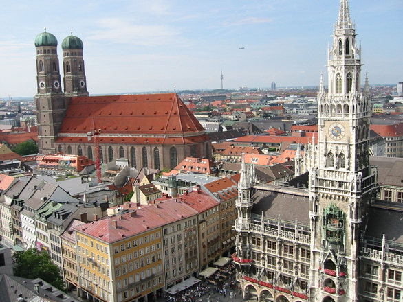 Munich city centre