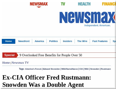 Newsmax on Snowden