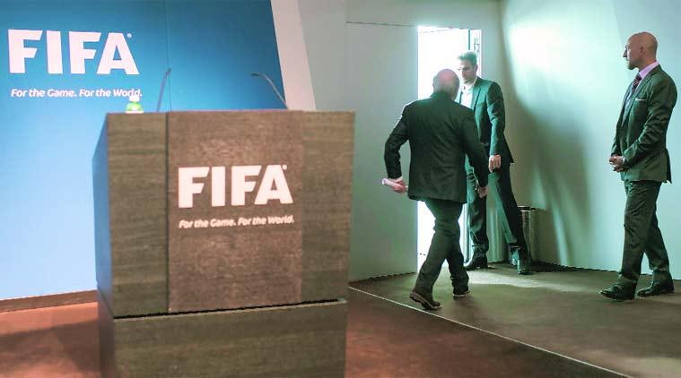 Blatter exits
