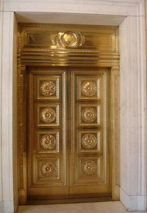 The bronze doors of the US Supreme Court