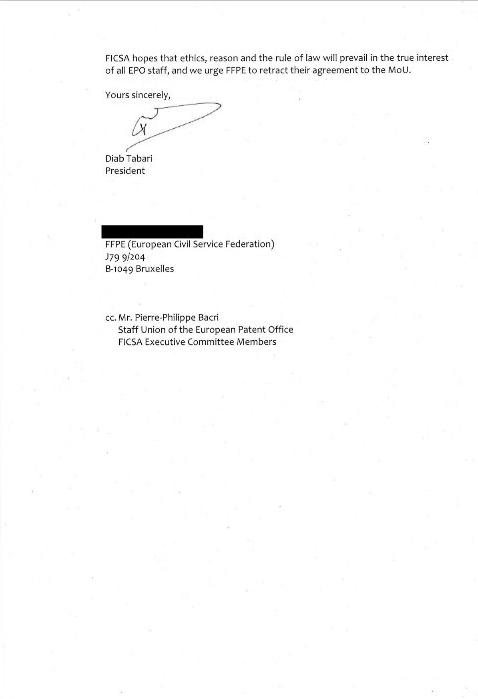 FICSA letter page 2