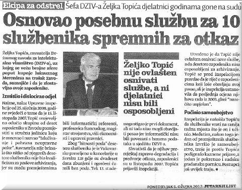 Željko Topić article