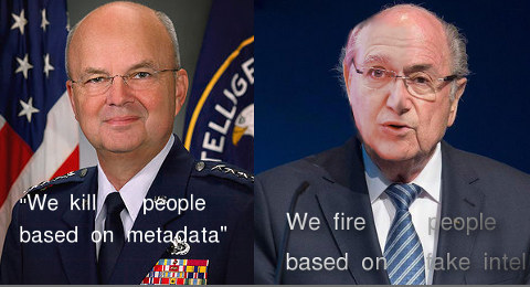 Michael Hayden and Battistelli