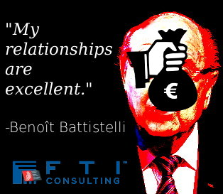 Sepp Blatterstelli and FTI Consulting