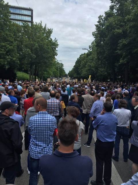 EPO Protest in Munich