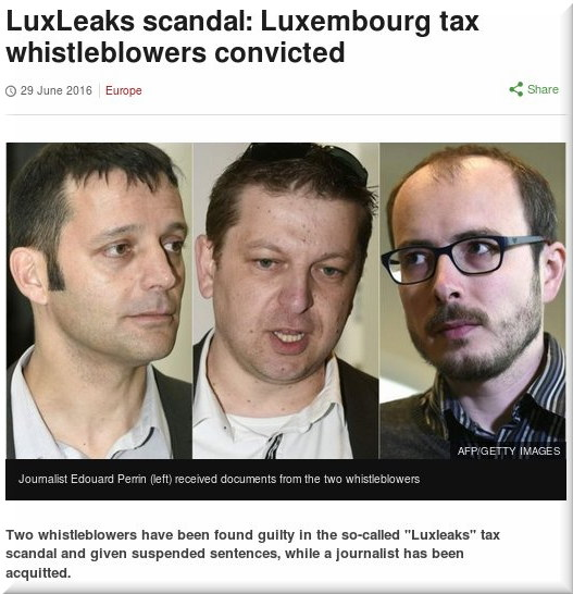 LuxLeaks scandal