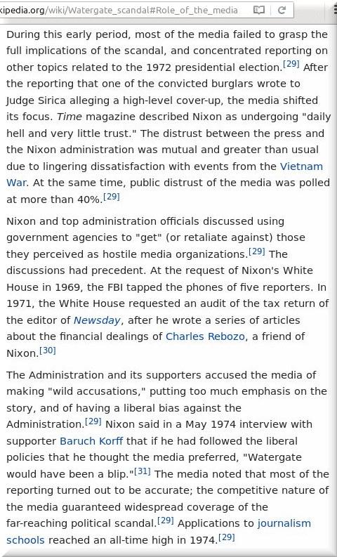 Watergate media