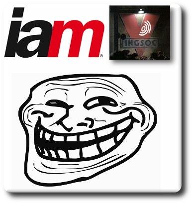 IAM logo and friends