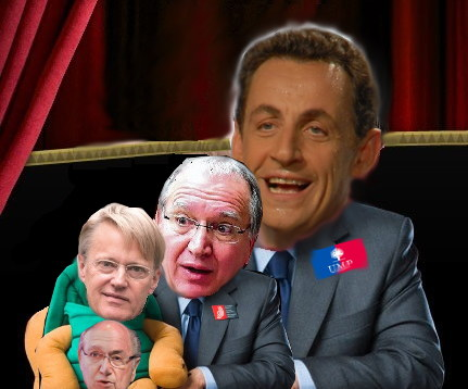 Sarkozy, Battistelli, and Kongstad