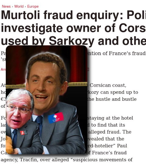 Sarkozy and Battistelli