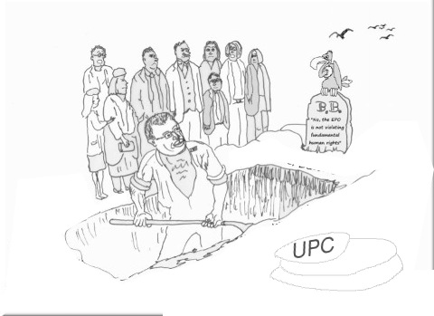 Battistelli digs his own UPC grave