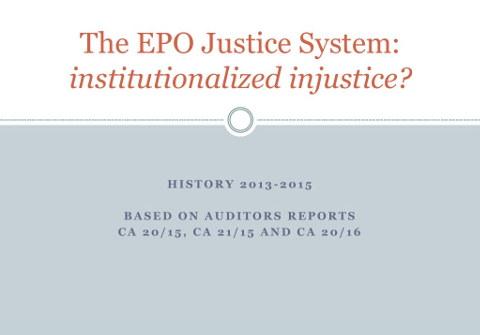EPO justice 1