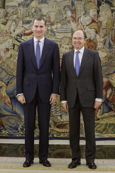 King Felipe and Garcia-Escudero