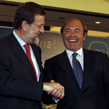PM Rajoy and Garcia-Escudero
