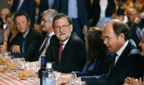 Rajoy Garcia-Escudero-Madrid-Election Campaign
