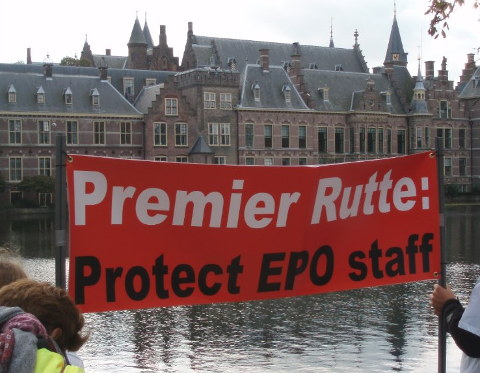 Protest at The Hague